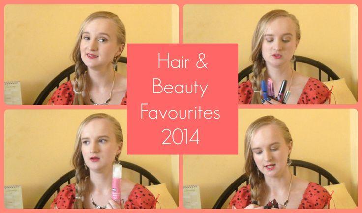 Hair & Beauty Favourites 2014 | Retro Bombshell TV
