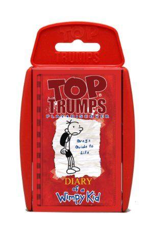 juegos de cartas nios tarjetas de los nios juguetes y juegos diarios compras de navidad habilidades para la vida top trumps wimpy kid diary of