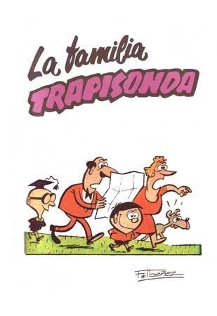 La familia Trapisonda, un grupito que es la monda-1958 (IBAÑEZ)