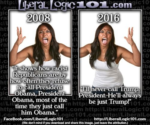 Liberal Logic - Funny how that works…
