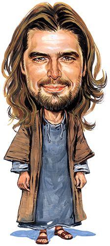 Jesus ...artwork by ExaggerArt http://exagger-art.artistwebsites.com/