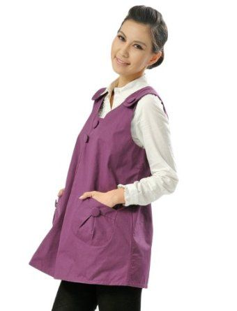 OurSure Fashionable Anti Radiation Protection Maternity Dress with Mom / Baby Radiation Shielding, One Size for Pregnant Women, Clothes Code 89003188, Purple OURSURE.COM. $69.96