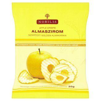 Nobilis almaszirom szárított golden almakarika 20 g - Tesco Bevásárlás