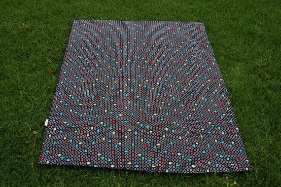 Pacman Space Invaders Quilt by madebyEin on Etsy
