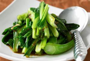 Stir-fried bok choi - Steve Brown Photography/Photolibrary/Getty Images