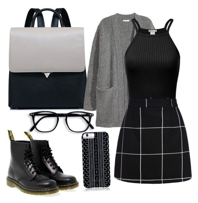 """Без названия #42"" by sainasvtsv ❤ liked on Polyvore featuring Kofta, Dr. Martens and Savannah Hayes"