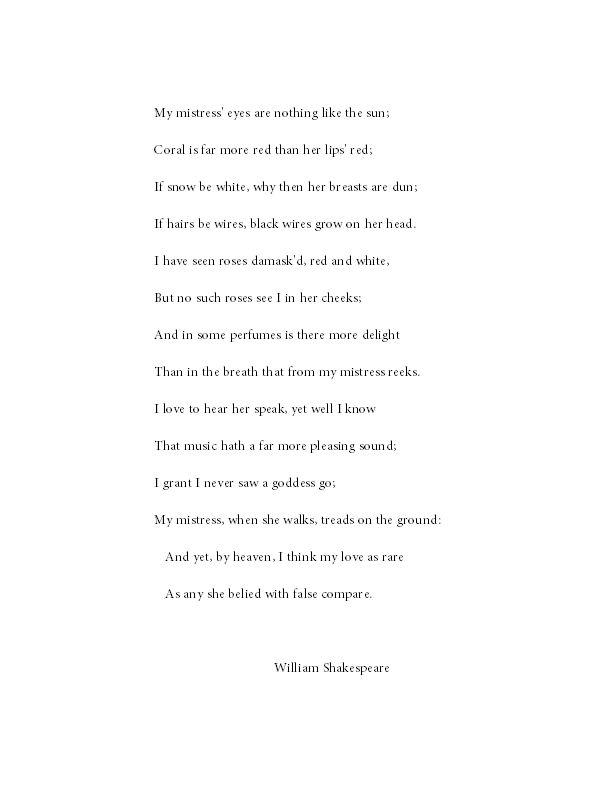 Sonnet 18 essay