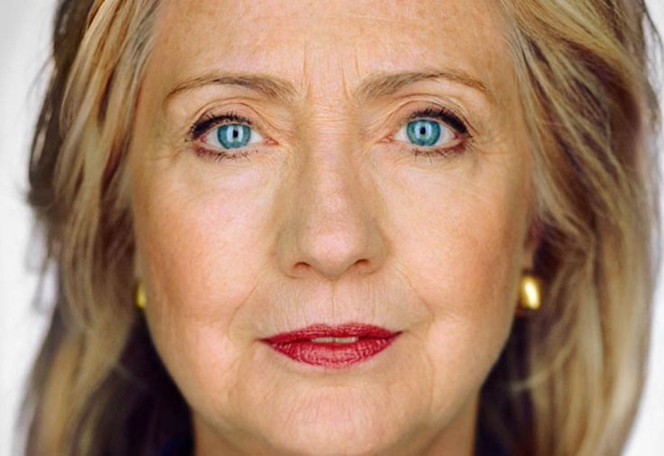 Hillary Clinton, photographed by Annie Leibovitz
