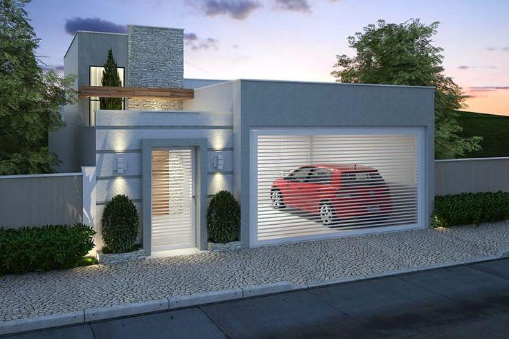 Casa pequeña con 3 habitaciones