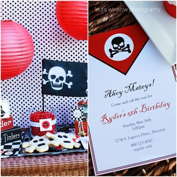 {Pirate Birthday Party}