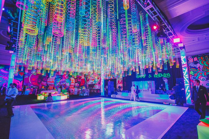 Glow Party B'nai Mitzvah - LuvRox Photography