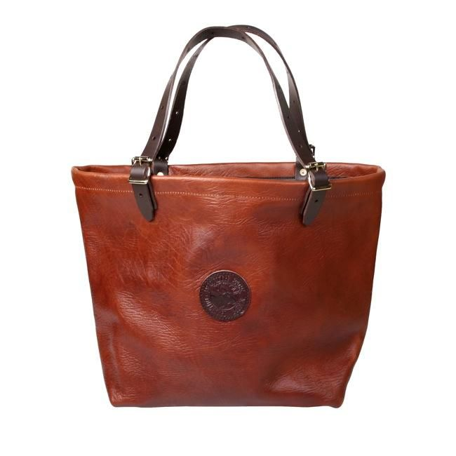 Bison Leather Market Tote - Handbags & Purses - Accessories :: Duluth Pack :: Made in the USA