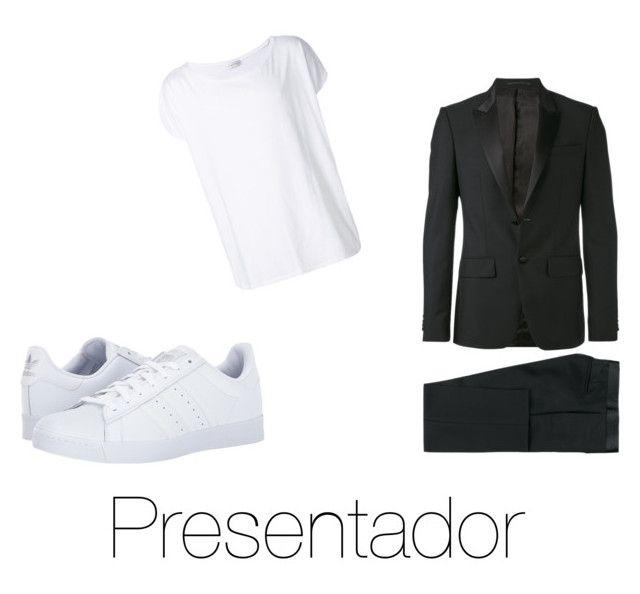 """Presentador"" by fsh-style on Polyvore featuring Givenchy, adidas, Faith Connexion, men's fashion y menswear"