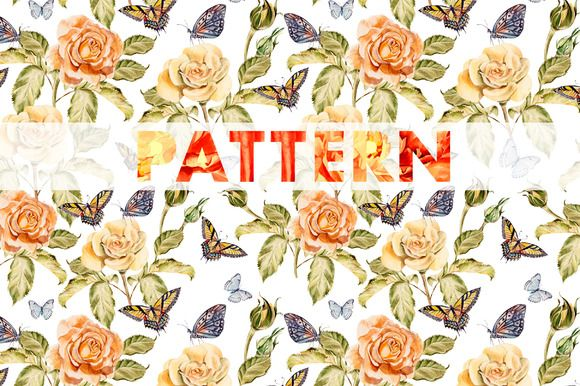 8 bright watercolor patterns by knopazyzy on @creativemarket