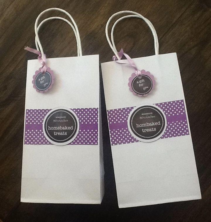 Purple Party Bag