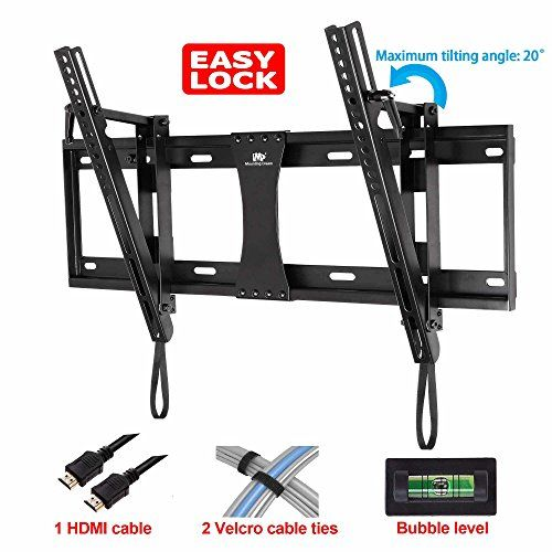 Mounting Dream® MD2165-LK Tilt TV Wall Mount Bracket for 42-70 Inches TVs with VESA 200X100 to 600X400mm, Loading Capacity 132 lbs, 0-20 Degree Forward Tilt, Including 6 ft HDMI Cable and Magnetic Bubble Level (for Samsung, Sony, Vizio, LG, Sharp, TCL 42, 47, 48, 49, 50, 51, 55, 60, 64, 65, 70 inch TV) - https://twitter.com/donrzn/status/631797136787509248