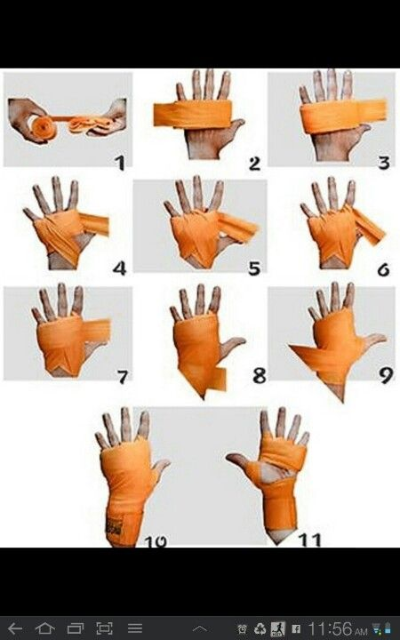 How to wrap your hands the right way for maximum knuckle and wrist protection