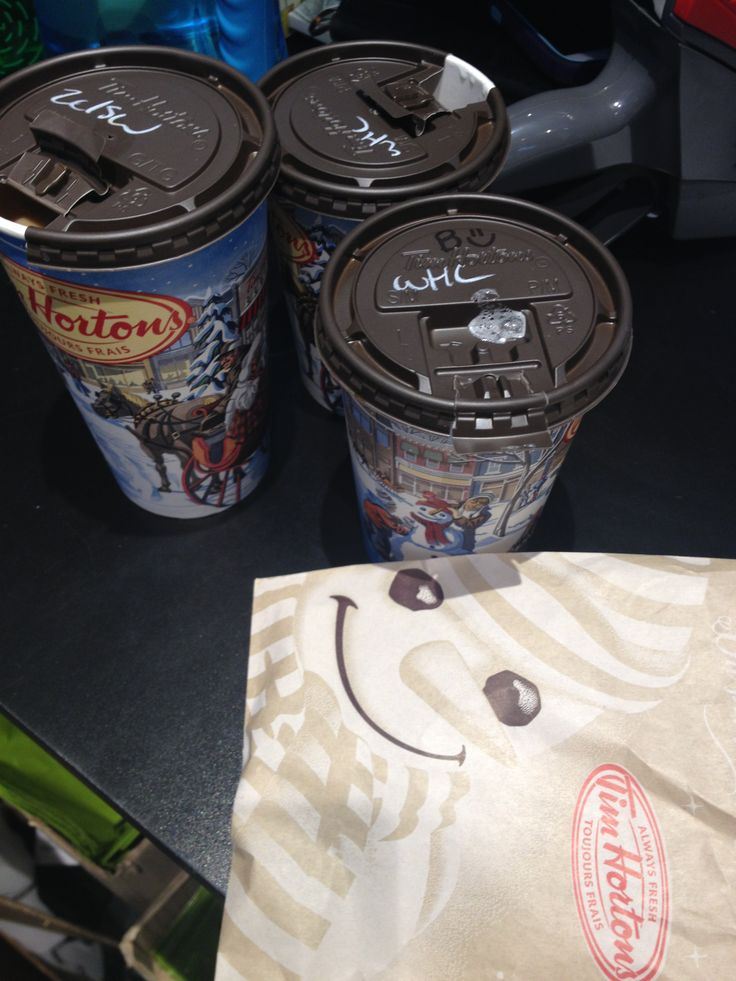 We love our Timmies breaks!