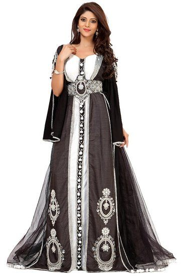 Moroccan wedding kaftan.