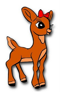 The Lady Wolf Clarice Reindeer SVG from Rudolph The Red