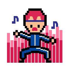 [iMessage Animated Sticker] Mr.Pixel https://itunes.apple.com/us/app/mr.pixel-sticker-pack/id1156502687?mt=8
