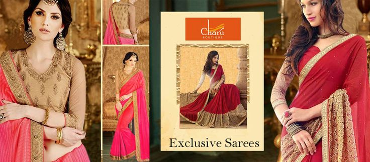 #Shop Classy and appealing collection of#designersarees by #CharuBoutique  @Amazon.com https://goo.gl/qK9qwh #printedsarees  #silksarees#partywear   #partywearsarees   #occassionwear  #ethnicsarees   #ethnicwear   #ethnicfashion  #ethnicstyles   #hotlook   #indianwear   #desilook  #fashionable   #traditional   #traditionalwear
