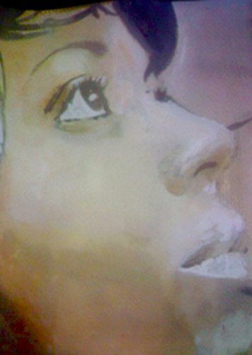 """""""Mina Agossi"""" $299 Watercolor on paper PAINTING"""