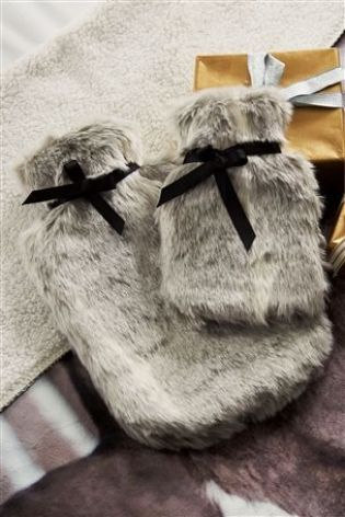 Buy Faux Fur Hot Water Bottles from the Next UK online shop
