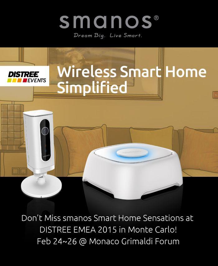 smanos W020 + IP6 Invitation for DISTREE EMEA 2015