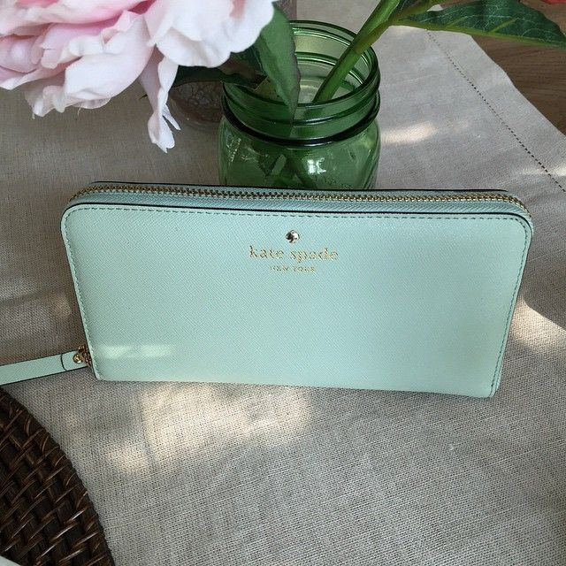Kate Spade Wallet - Mint Clothing, Shoes & Jewelry : Women : Handbags & Wallets : http://amzn.to/2jE4Wcd