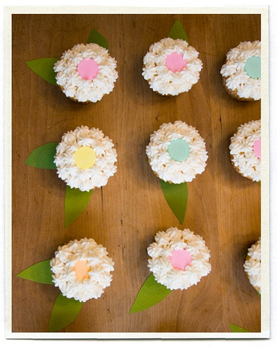 Flower Cupcakes by ...love Maegan, via Flickr