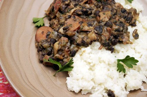 Brazilian black beans and rice | Yummy in my Tummy | Pinterest