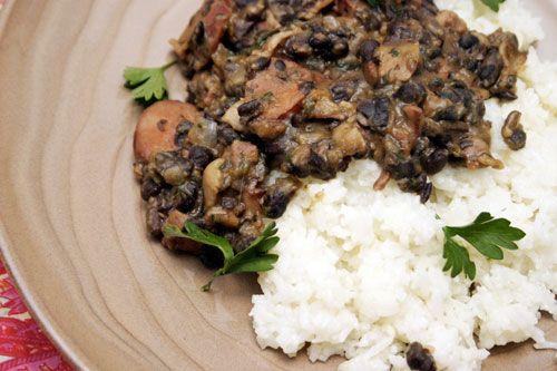 Feijoada Com Arroz: Brazilian Black Beans with Rice