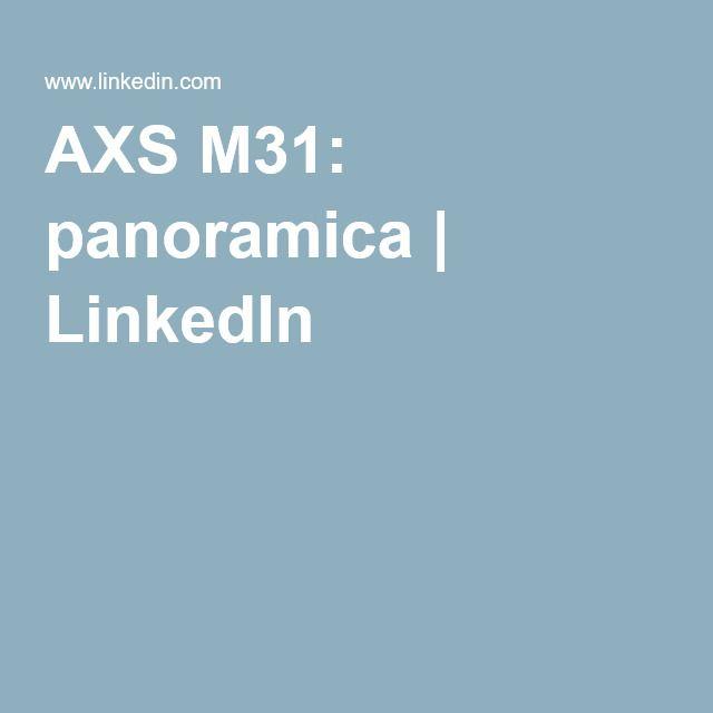 AXS M31: panoramica | LinkedIn