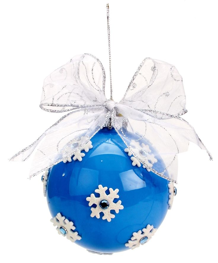 Nicole™ Crafts Blue Snowflake Ornament #ornaments #craft #christmas