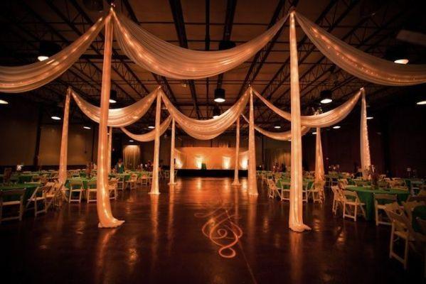 gym wedding reception | for heidi