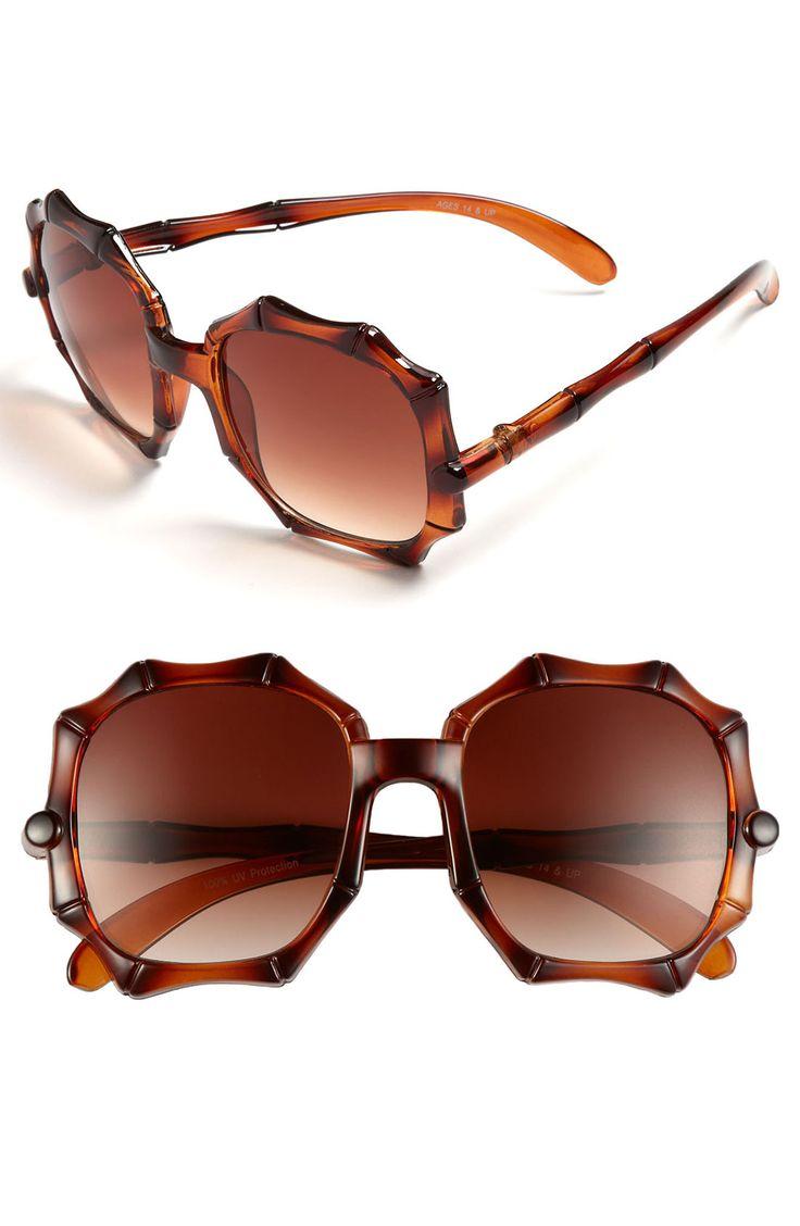 FE NY Bamboozle Sunglasses | Nordstrom
