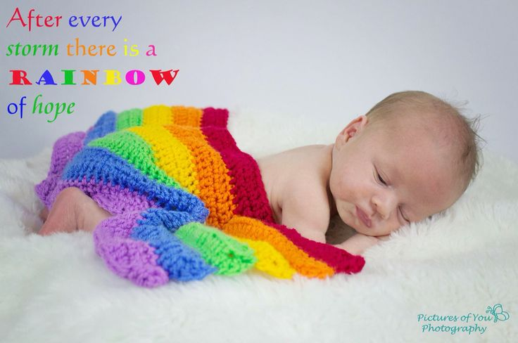 Rainbow baby boy - rainbow quote - newborn photography - pictures of you photography