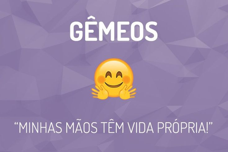 Emoji do Signo Gêmeos