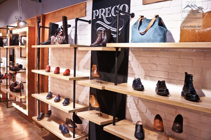 Prego! shoes flagship store in Bucharest by Glmashops