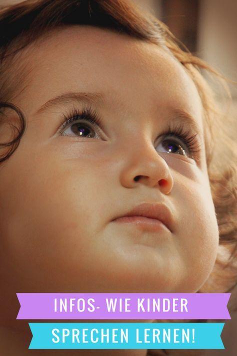 Wie Kinder Sprechen lernen - ausführliche Informationen