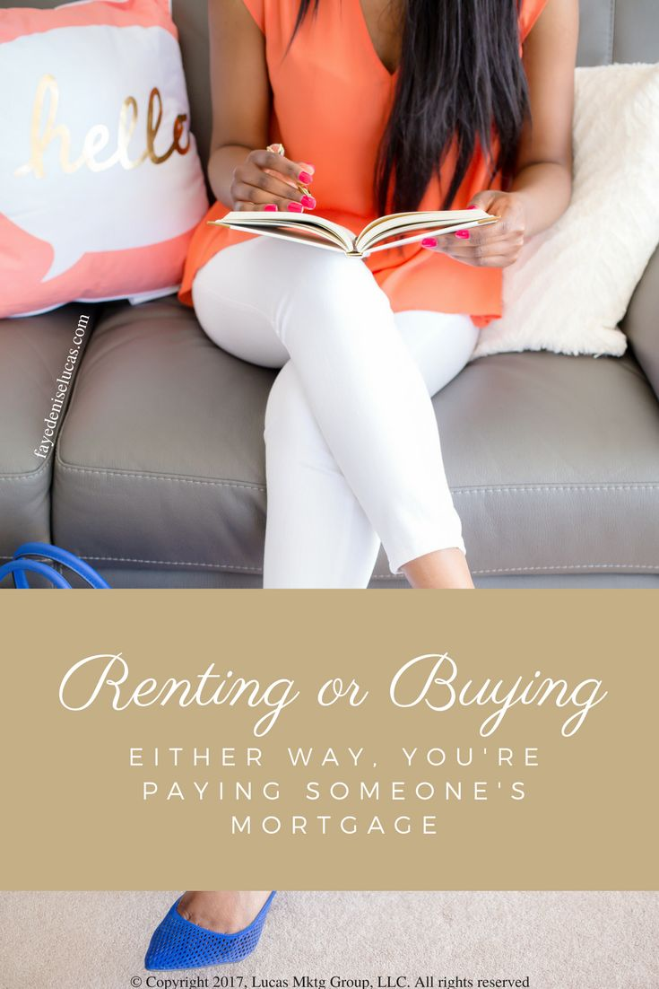 Everyone should realize that, unless you are living with your parents rent-free, you are paying a mortgage – either yours or your landlord's. #renter #landlord #tenant #mortgage #loan #realestate #diy #maryland