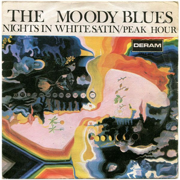 The Moody Blues - Nights In White Satin / Peak Hour (Vinyl) at Discogs
