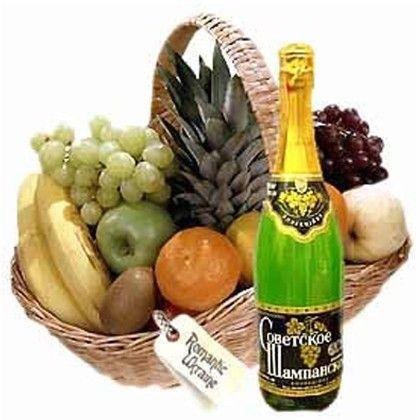 Send Fresh Fruits Basket 4Kg with Juice Online