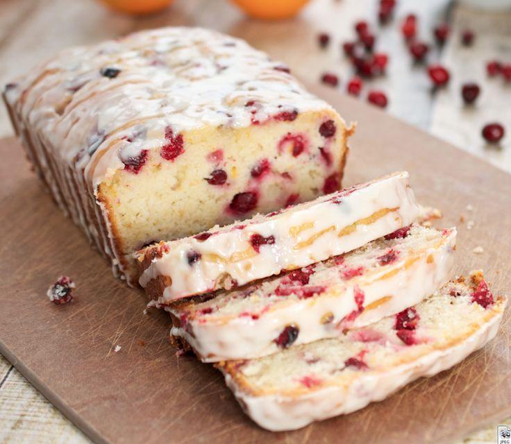 Cooking Pinterest: Orange-Cranberry Yogurt Loaf Recipe