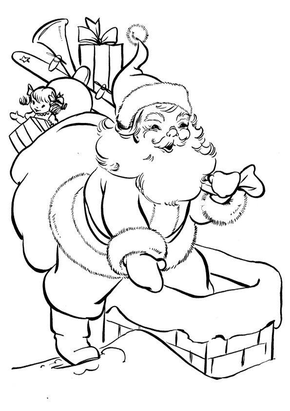 ausmalbilder nikolaus 34 weihnachten stickmuster. Black Bedroom Furniture Sets. Home Design Ideas