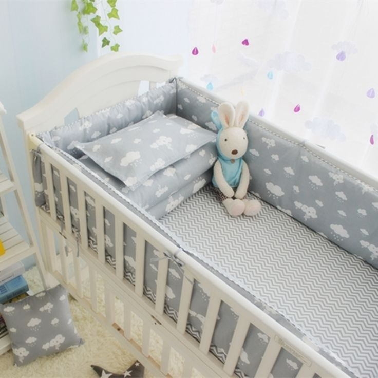 (32.39$)  Watch now - http://ai2qo.worlditems.win/all/product.php?id=32794986917 - Hot Sale 10Pcs Baby Bedding Set For Boy Organizer For Baby Bed ,100% Cotton Newborn Bed Bumpers+Sheet+Pillow Cover +Quilt Cove