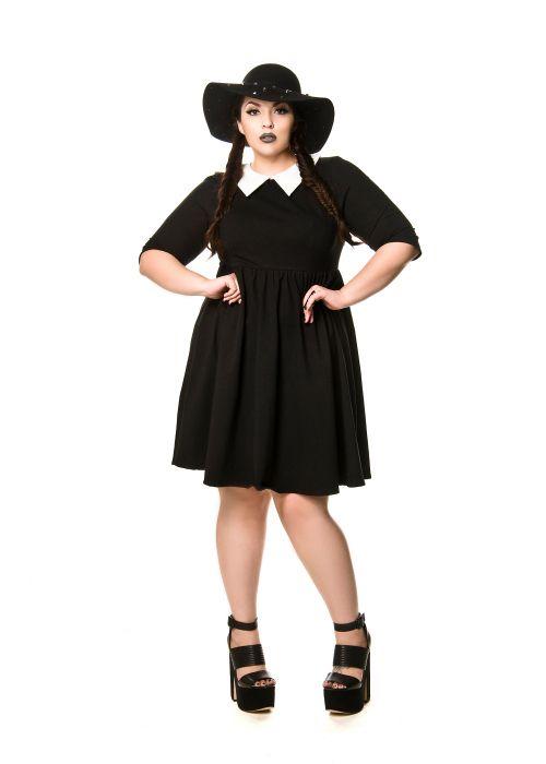 Domino Dollhouse - Plus Size Clothing: Wednesday Dress