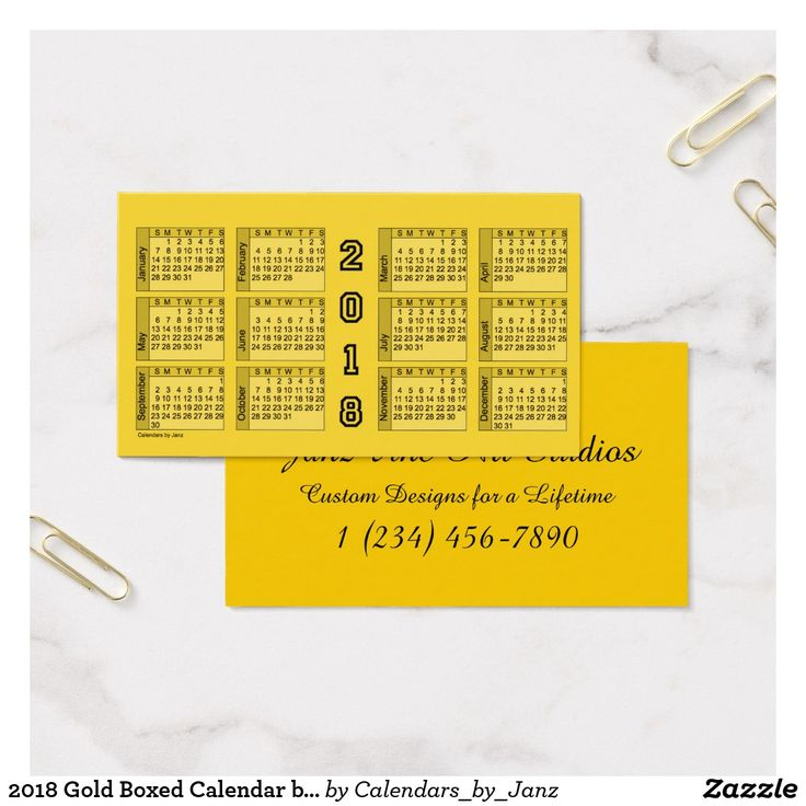 62 best Business Card Calendars images on Pinterest   Business cards ...