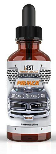 Product review for Best Research Labs Pre Shave Oil, Shave Oil, Primer Organic Shave Oil-Best Pre Shave Oil, Ultra Gliding Shave Oil for Effortless Smooth Shave, Prevents Razor Burns & Cuts,  2 fl. oz.  - Shaving is all about lubrication. Pre shave oil helps with lubrication, the better the lubrication, the less likely you will get nicks, cuts and razor burn. Primer pre shaving oil will give you a closer shave, irritation free. Primer shaving oil also has anti-aging propert